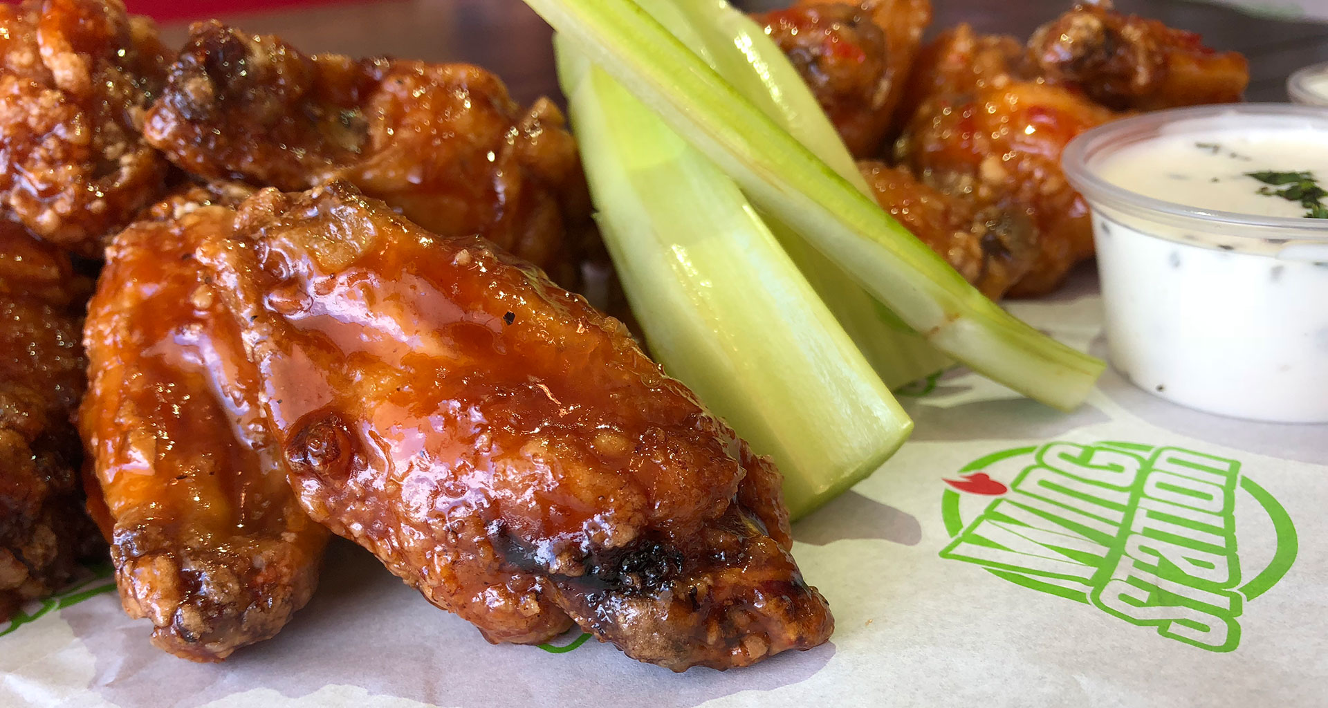 Wing Station - Wings with Celery & Ranch